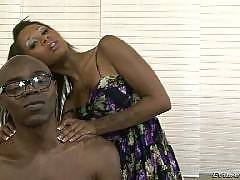 Sexy ebony chick fucked by black cock from EvilAngel HD