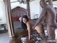 Sexy Black Chick at PornstarNetworkHD