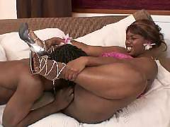 Chubby black chick Decollecter and her fuck buddy engage in a session of hardcore fucking in this steamy scene. She spreads her legs wide and experiences a wild pussy pleasure, with her boyfriends hard wang drilling in and out of her plump ebony coo
