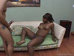 Black chick fucked