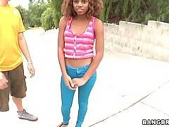 Black girl loves cum on her face. Essence