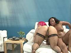 We all know that the only thing better than a black-on-black scene is a three-way with two big, black and horny BBWs like Skyy Black and Pinky. Skyy Black and Pinky are phat booty babes that love to share. In this scene, youll be watching these ladi. Skyy